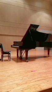 発表会ピアノ