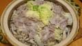 とり野菜味噌鍋 20150627