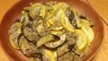 茄子とズッキーニのひき肉炒め カレー風味 20150721