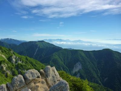 燕岳+α 絶好の山日和♪