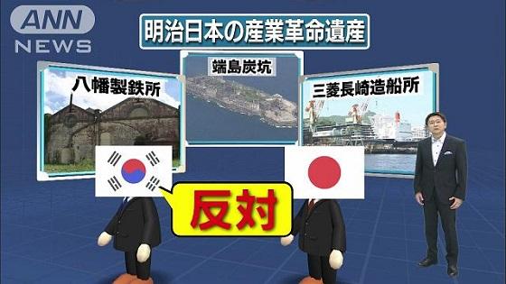 一転、韓国が反対で、世界遺産正式登録に暗雲ANN