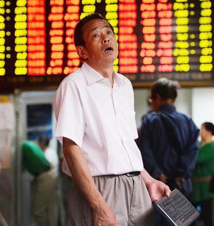 【画像特集】支那人投資家の反応・上海株暴落!約半数の銘柄が取引停止を申請する異常事態!支那企業に巨額出資の伊藤忠商事も急落!