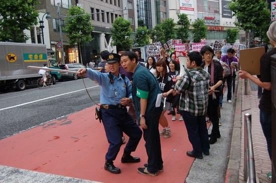 そして、「6・14渋谷デモ」で、SEALDsを仕切っていたのは、民青同盟全国委員長の田中悠だった。
