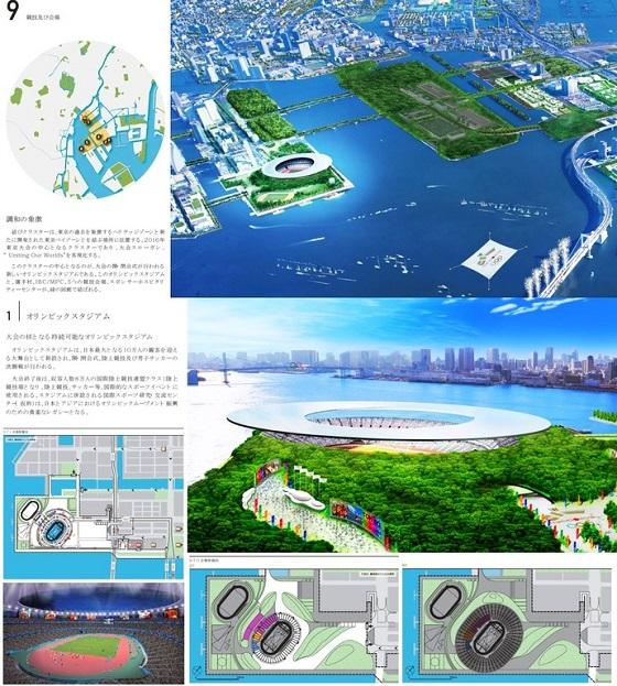 もともと新国立は、2016年五輪招致で「晴海開発区」に建設するプランだった。