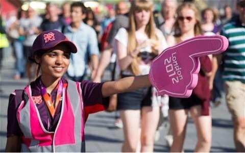 ロンドン五輪 ボランティア
