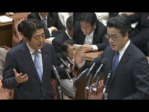 安倍晋三総理 vs 岡田克也(民主党代表)《党首討論》【国会中継】