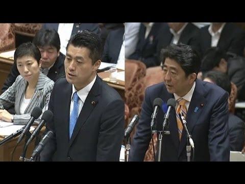 「forced to work」世界文化遺産登録 細野豪志vs岸田大臣&総理