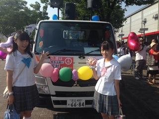 制服向上委員会2015年08月02日私が支えてみせる こんばんは、齋藤優里彩です。本日はT-es SOWL渋谷デモに参加しました。