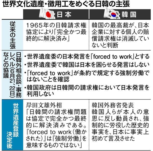 外相会談合意無視した韓国、密室で飛び交う怒号 交渉責任者「韓国の悪意に充ちた行為確信した」