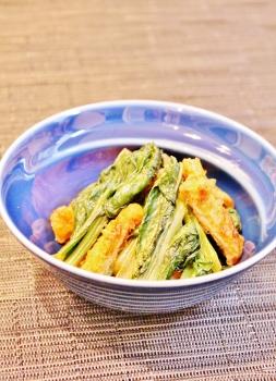 小松菜油揚げのシャキシャキ炒め (253x350)