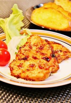 鶏むね肉のカレーバルサミコ酢醤油炒め (243x350)