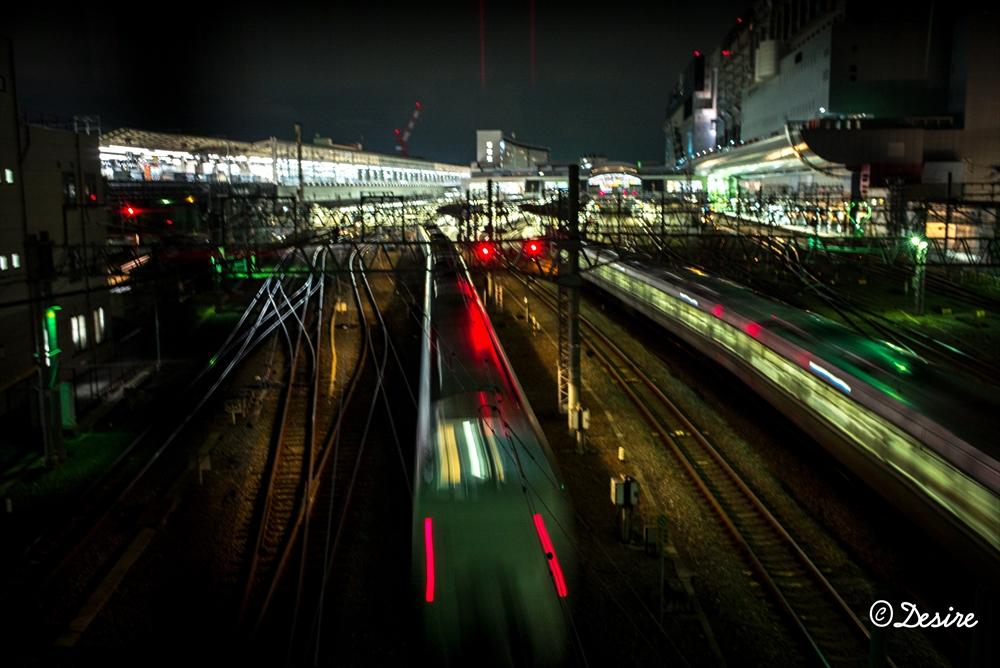 京都駅長秒露光