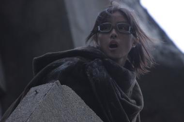 『進撃の巨人 ATTACK ON TITAN』 ハンジを演じた石原さとみ。脇役だけれど場面を凍りつかせるようなところが……。