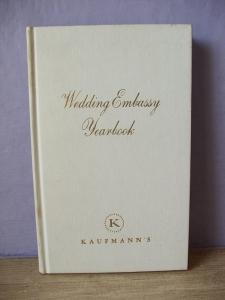 1960年代ヴィンテージビンテージウェディングノート