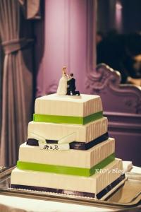 石川りょうこ_結婚式_ケーキトッパー