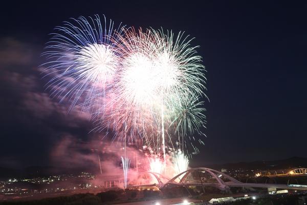 夜は花火大会。今年も良かった。