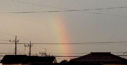 夕涼み会2015虹