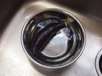 茄子と魚肉ソーセージの冷製37