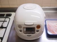炊飯器蒸鶏b34