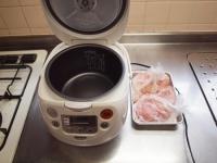 炊飯器蒸鶏b40