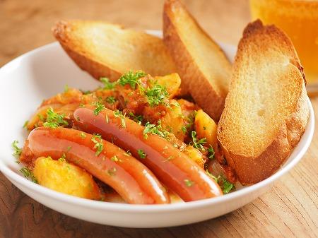 鯖缶とじゃがいものトマト煮ウイ14