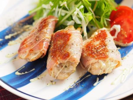 鶏むね肉の生ハム大葉巻き21