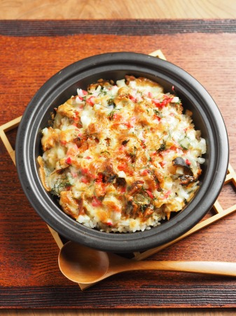 鯖缶で焼きチーズご飯17