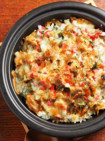 鯖缶で焼きチーズご飯19