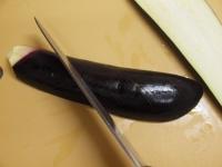 鯖缶となすのチーズ焼き16