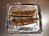 鯖缶となすのチーズ焼き25