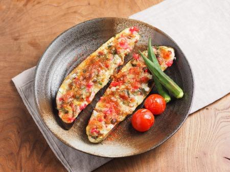 鯖缶となすのチーズ焼き02