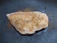 鶏むね肉のスパイスぽん酢焼19