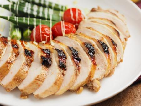 鶏むね肉のスパイスぽん酢焼17