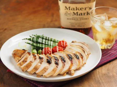 鶏むね肉のスパイスぽん酢焼07