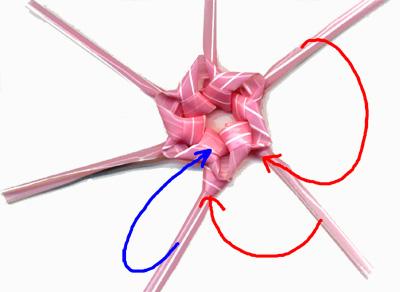 輪花 作り方5