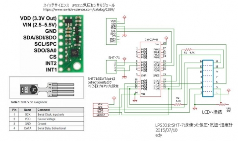 THPmeter回路図