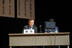 日本臨床歯周病学会(仙台)で座長を務める院長002