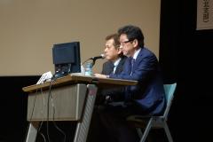 日本臨床歯周病学会(仙台)で座長を務める院長003