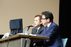 日本臨床歯周病学会(仙台)で座長を務める院長004