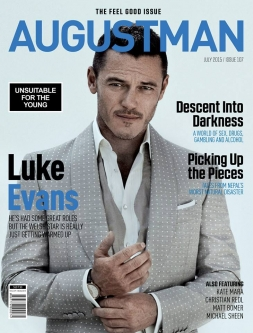 AUGUST MAN - July 2015