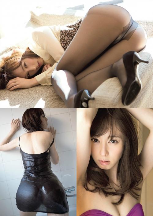 秋山莉奈 Aカップ グラビア 美尻 03