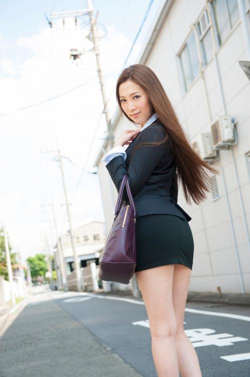 OL 制服 コスプレ 不倫 01