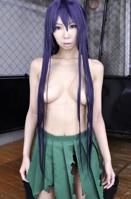 コスプレイヤー 着エロ 露出 ヌード 01