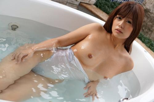 濡れ透け競泳水着 21