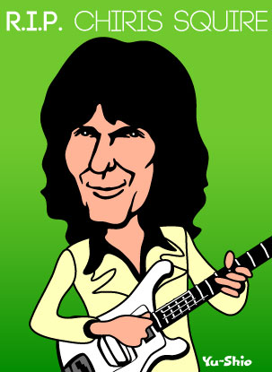 Chris Squire caricature