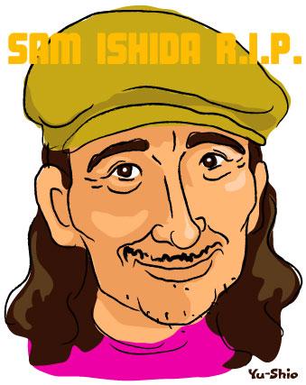 石田長生 Osamu Oshida caricature