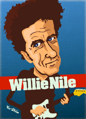 Willie Nile caricature
