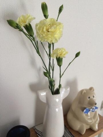 カーネーション リサラーソン リサ・ラーソン ワードローブ ドレス 一輪挿し 花器 花瓶 フラワーベース オブジェ