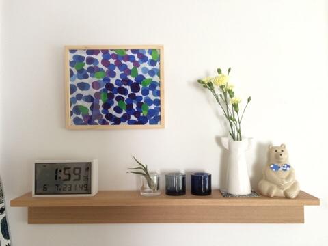 無印良品 壁に付けられる家具・棚 飾り棚 ディスプレイ リビング リサ・ラーソン リサラーソン ワードローブ ドレス オブジェ KIVI
