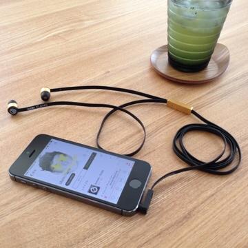 Sudio SUDIO Klang KLANG ブラック 黒 北欧 デザイン イヤフォン スウェーデン オシャレ おしゃれ アクセサリー 高音質 iPhone用イヤフォン EDM